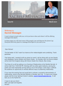 SACRED MSGS. ISSUE87